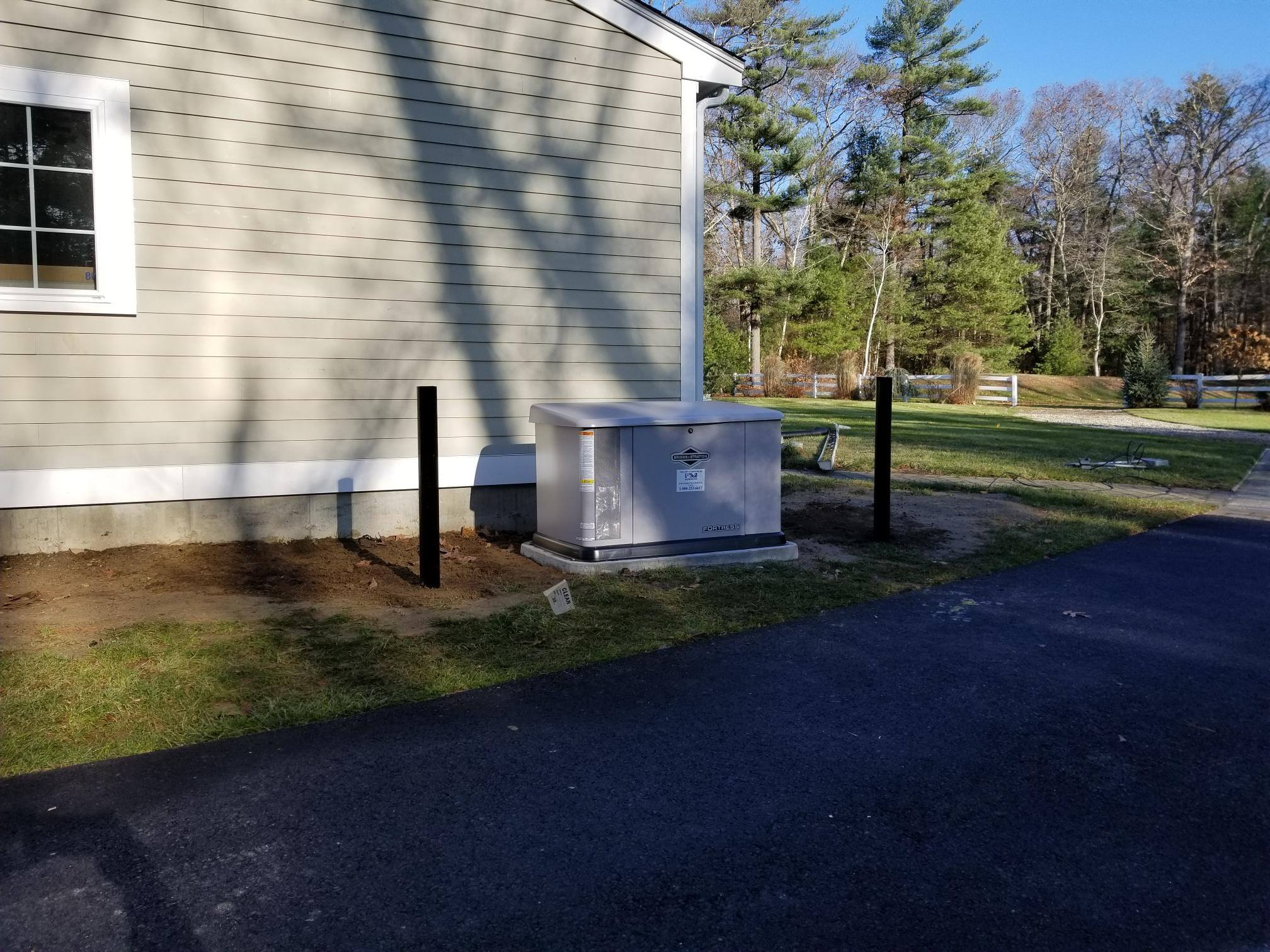 fortress home generator installed by fm generator massachusetts